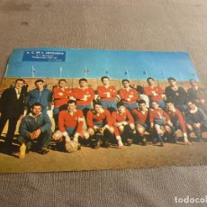 Coleccionismo deportivo: (ML)LÁMINA ORIGINAL PRENSA-TEMP.1961-62-A.C.DE F. ARTIGUENSE-TERCERA DIVISIÓN.. Lote 77292937