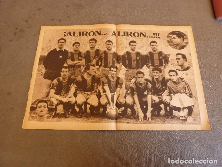 POSTER ORIGINAL(ABRIL 1959)-47CM X 30CM-F.C.BARCELONA CAMPEÓN LIGA TEMP.58-59-BARÇA-RAMALLETS,KUBALA (Coleccionismo Deportivo - Carteles de Fútbol)