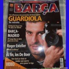 Coleccionismo deportivo: REVISTA BARÇA 1999 NUMERO 6 GUARDIOLA 98 PAGINAS . Lote 83010688