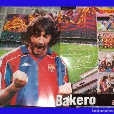 Coleccionismo deportivo: POSTER FUTBOL BAKERO PUBLICADO POR SPORT MIDE 80/60 CM.. Lote 83010772