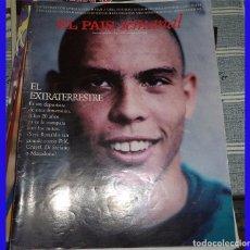 Coleccionismo deportivo: RONALDO EL EXTRATERRESTRE EL PAIS SEMANAL 1996 FUTBOL. Lote 83011040