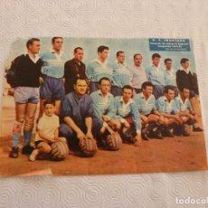 Coleccionismo deportivo: (ML)LÁMINA ORIGINAL PRENSA-TEMP.1960-61-C.F.IGUALADA-CAMPEÓN CATEGORIA REGIONAL.. Lote 84118664