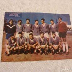 Coleccionismo deportivo: (ML)LÁMINA ORIGINAL PRENSA-TEMP.1960-61-U.D.ADRIANENSE-3ª DIVISÓN.. Lote 84118888