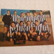 Coleccionismo deportivo: (ML)LÁMINA ORIGINAL PRENSA-TEMP.1960-61-U.D.FIGUERAS-3ª DIVISÓN.. Lote 84119020