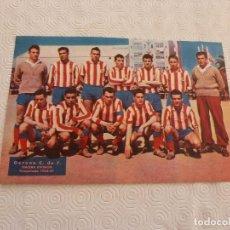 Coleccionismo deportivo: (ML)LÁMINA ORIGINAL PRENSA-TEMP.1960-61-GIRONA C.F.-3ª DIVISÓN.. Lote 84119128