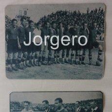 Coleccionismo deportivo: F.C. BARCELONA. LOTE 2 RECORTES CAMPEÓN COPA DEL REY 1927-1928 EN EL SARDINERO CONTRA R. SOCIEDAD.. Lote 84471048
