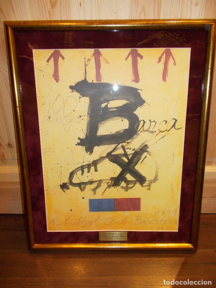 cartel centenario del f.c.barcelona ( antoni ta - Comprar Carteles ...