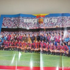Coleccionismo deportivo: POSTER FC BARCELONA. BARÇA 1997-1998. DIARIO SPORT. Lote 86916680