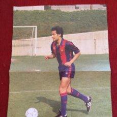 Colecionismo desportivo: CARTEL POSTER BARCELONA ANTONIO PINILLA EL OBSERVADOR TAMAÑO 43X29 CM.. Lote 87211572