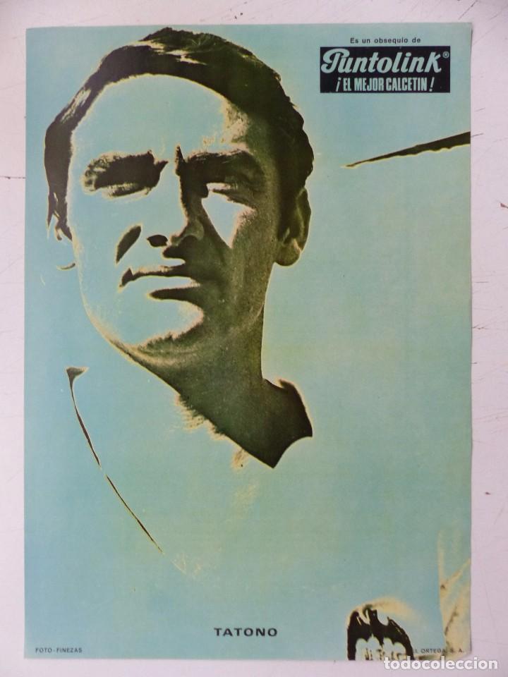 Coleccionismo deportivo: VALENCIA C.F. - 15 CARTELES FUTBOLISTAS, AÑOS 1970 FINEZAS - FERRYS, PUNTOLINK, MUEBLES FLORES - Foto 14 - 116622263