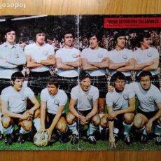 Coleccionismo deportivo: POSTER 94 UNION DEPORTIVA SALAMANCA AÑO 1973 REVISTA DE FUTBOL AS COLOR. Lote 89069936