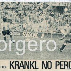 Coleccionismo deportivo: KRANKL. F.C. BARCELONA. RECORTE. Lote 89448816