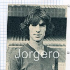 Coleccionismo deportivo: MORATALLA. F.C. BARCELONA. RECORTE. Lote 89449140