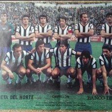 Coleccionismo deportivo: POSTER LA GACETA DEL NORTE. C.D. CASTELLON AÑOS 1970'-. Lote 93935895