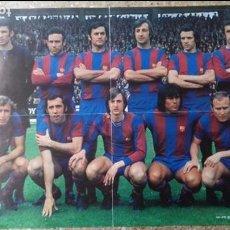 Coleccionismo deportivo: PÓSTER WILLIAMS. F.C. BARCELONA. CAMPEON LIGA 1973.74. Lote 93942540