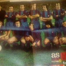 Coleccionismo deportivo: POSTER AS COLOR C DE FUTBOL BARCELONA CAMPEON DE LIGA 1973 74. Lote 94451630