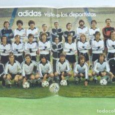 Coleccionismo deportivo: POSTER OFICIAL ADIDAS UNIÓN DEPORTIVA SALAMANCA TEMPORADA 82-83 FIRMADO POR TODOS LOS JUGADORES-. Lote 97310279