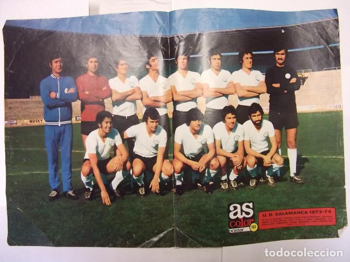 POSTER DE LA UNION DEPORTIVA SALAMANCA. 1973-74. AS COLOR. TDKP12 (Coleccionismo Deportivo - Carteles de Fútbol)