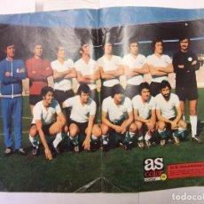 Coleccionismo deportivo: POSTER DE LA UNION DEPORTIVA SALAMANCA. 1973-74. AS COLOR. TDKP12. Lote 98836715