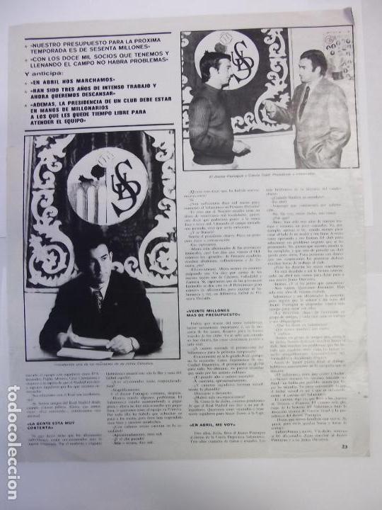 Coleccionismo deportivo: POSTER DE LA UNION DEPORTIVA SALAMANCA. 1973-74. AS COLOR. TDKP12 - Foto 2 - 98836715
