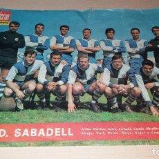 Coleccionismo deportivo: LOTE POSTER DE FUTBOL EL ALCAZAR. Lote 99823791