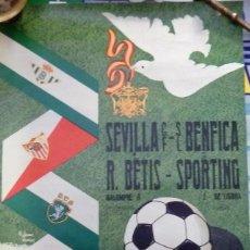 Coleccionismo deportivo: SEVILLA, 1974, CARTEL III TROFEO CIUDAD DE SEVILLA, 46X70 CMS. Lote 101558007