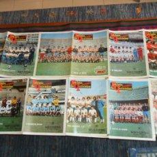 Coleccionismo deportivo: REVISTA DE QUINIELAS PUEBLO 30 PÓSTER 1ª DIVISIÓN. 47X33 CMS. MBE. LOTE AMPLIADO 13-11-17. Lote 58333559