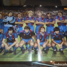 Coleccionismo deportivo: POSTER REVISTA DIEZ MINUTOS F.C.BARCELONA COPA REY 1983. Lote 103430059