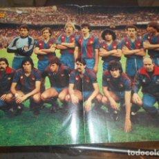 Coleccionismo deportivo: POSTER REVISTA DIEZ MINUTOS F.C.BARCELONA 1993 - 1994. Lote 103430311
