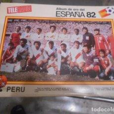 Coleccionismo deportivo: POSTER REVISTA TELERADIO ESPAÑA 1982 - SELECCION PERU. Lote 103431635