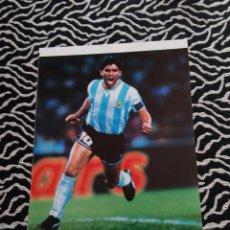 Coleccionismo deportivo: PÓSTER 1 PÁGINA REVISTA SOLO GOLES DIEGO ARMANDO MARADONA (ARGENTINA). Lote 103864459