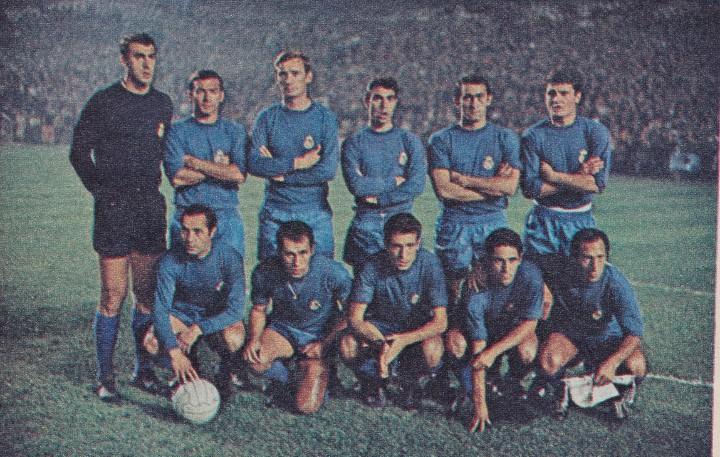 Resultado de imagen de ajax real madrid 1967-68