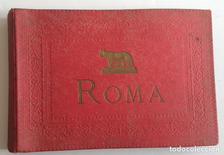 Coleccionismo deportivo: Ca. 1900 * ROMA * ANTIGUO ALBUM DE FOTOGRAFIAS de sus monumentos * 36 fotos de R. Moscioni - Foto 3 - 109179043