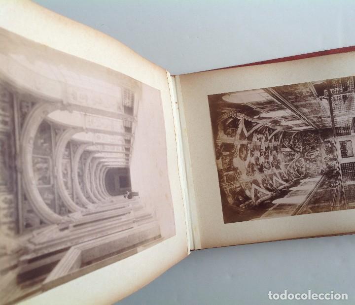 Coleccionismo deportivo: Ca. 1900 * ROMA * ANTIGUO ALBUM DE FOTOGRAFIAS de sus monumentos * 36 fotos de R. Moscioni - Foto 7 - 109179043