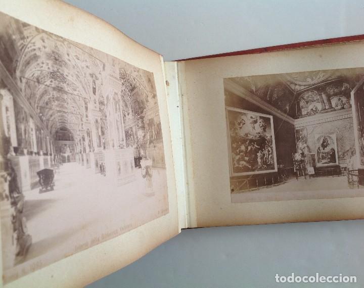 Coleccionismo deportivo: Ca. 1900 * ROMA * ANTIGUO ALBUM DE FOTOGRAFIAS de sus monumentos * 36 fotos de R. Moscioni - Foto 8 - 109179043