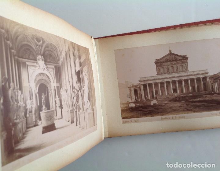 Coleccionismo deportivo: Ca. 1900 * ROMA * ANTIGUO ALBUM DE FOTOGRAFIAS de sus monumentos * 36 fotos de R. Moscioni - Foto 9 - 109179043