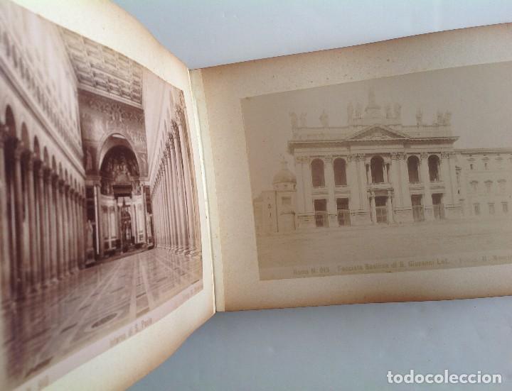 Coleccionismo deportivo: Ca. 1900 * ROMA * ANTIGUO ALBUM DE FOTOGRAFIAS de sus monumentos * 36 fotos de R. Moscioni - Foto 10 - 109179043