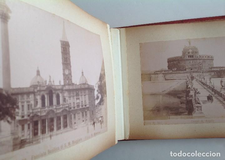 Coleccionismo deportivo: Ca. 1900 * ROMA * ANTIGUO ALBUM DE FOTOGRAFIAS de sus monumentos * 36 fotos de R. Moscioni - Foto 12 - 109179043