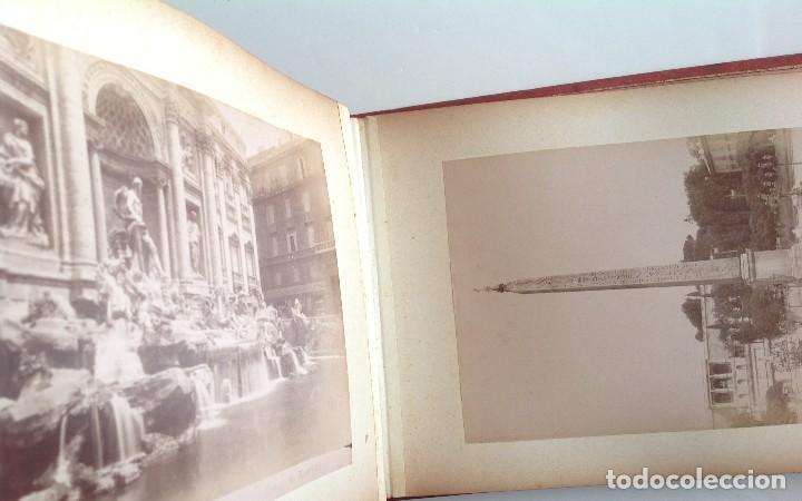 Coleccionismo deportivo: Ca. 1900 * ROMA * ANTIGUO ALBUM DE FOTOGRAFIAS de sus monumentos * 36 fotos de R. Moscioni - Foto 13 - 109179043