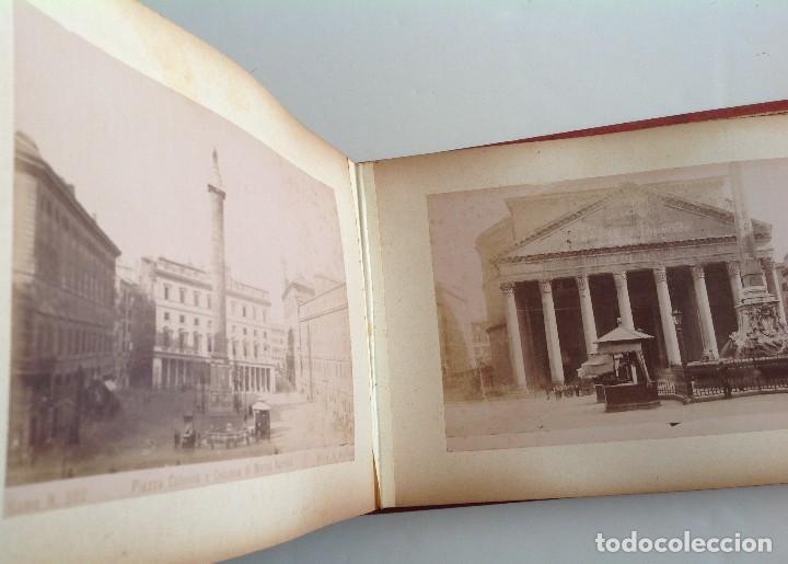 Coleccionismo deportivo: Ca. 1900 * ROMA * ANTIGUO ALBUM DE FOTOGRAFIAS de sus monumentos * 36 fotos de R. Moscioni - Foto 14 - 109179043