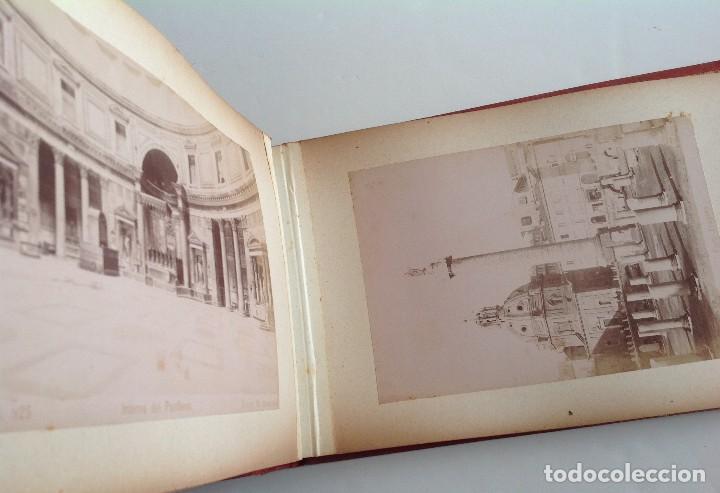 Coleccionismo deportivo: Ca. 1900 * ROMA * ANTIGUO ALBUM DE FOTOGRAFIAS de sus monumentos * 36 fotos de R. Moscioni - Foto 15 - 109179043