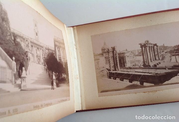 Coleccionismo deportivo: Ca. 1900 * ROMA * ANTIGUO ALBUM DE FOTOGRAFIAS de sus monumentos * 36 fotos de R. Moscioni - Foto 16 - 109179043