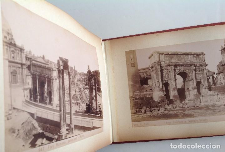 Coleccionismo deportivo: Ca. 1900 * ROMA * ANTIGUO ALBUM DE FOTOGRAFIAS de sus monumentos * 36 fotos de R. Moscioni - Foto 17 - 109179043