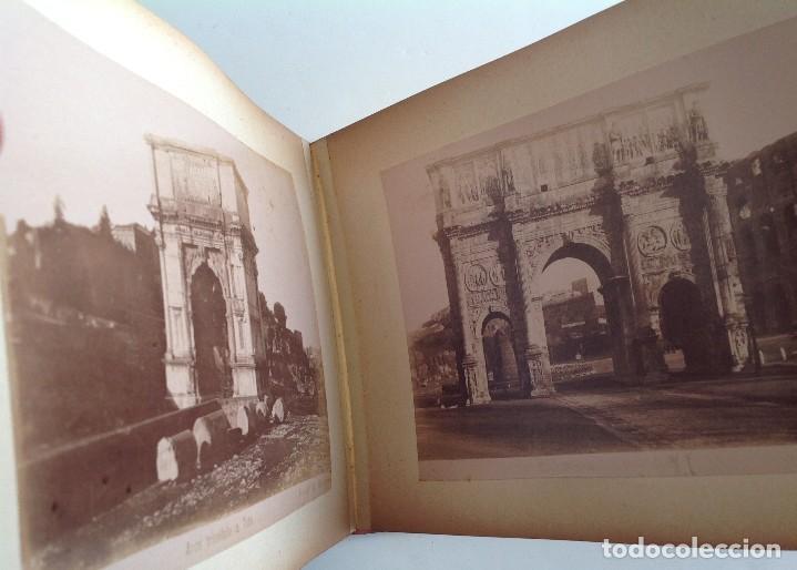 Coleccionismo deportivo: Ca. 1900 * ROMA * ANTIGUO ALBUM DE FOTOGRAFIAS de sus monumentos * 36 fotos de R. Moscioni - Foto 18 - 109179043
