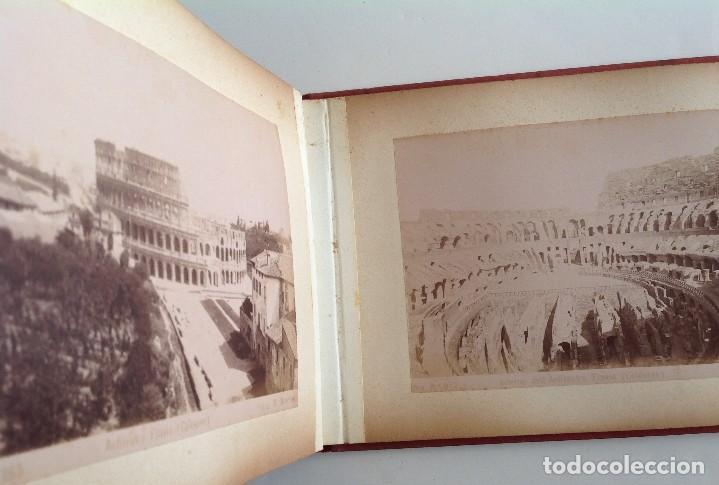 Coleccionismo deportivo: Ca. 1900 * ROMA * ANTIGUO ALBUM DE FOTOGRAFIAS de sus monumentos * 36 fotos de R. Moscioni - Foto 19 - 109179043
