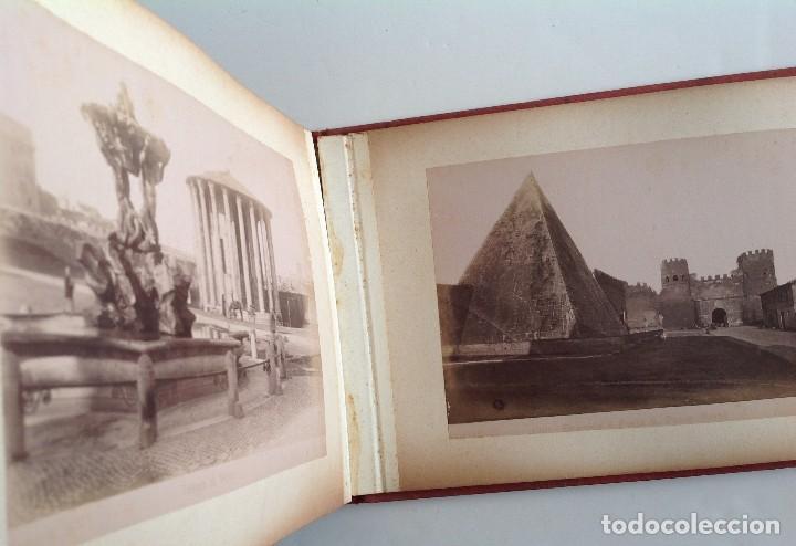 Coleccionismo deportivo: Ca. 1900 * ROMA * ANTIGUO ALBUM DE FOTOGRAFIAS de sus monumentos * 36 fotos de R. Moscioni - Foto 20 - 109179043