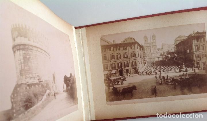 Coleccionismo deportivo: Ca. 1900 * ROMA * ANTIGUO ALBUM DE FOTOGRAFIAS de sus monumentos * 36 fotos de R. Moscioni - Foto 21 - 109179043