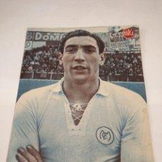 Coleccionismo deportivo: LOTE DE 12 POSTERS DE FUTBOL MARCA TEMPORADA 1942 - 1943. REAL MADRID / VALENCIA / DEPORTIVO. Lote 109284810