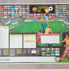 Coleccionismo deportivo: CARTEL POSTER PUBLICIDAD GILLETTE NARANJITO MUNDIAL FÚTBOL ESPAÑA 82. Lote 112791855