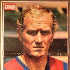 Coleccionismo deportivo: FC BARCELONA. 1974. MARCIAL. POSTER. BUEN ESTADO.. Lote 112872887